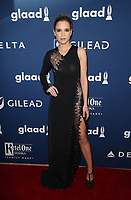 BEVERLY HILLS, CA - APRIL 12: Ana Fernandez, At the 29th Annual GLAAD Media Awards at The Beverly Hilton Hotel on April 12, 2018 in Beverly Hills, California. <br /> CAP/MPI/FS<br /> &copy;FS/MPI/Capital Pictures