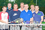 TENNIS: The Fels Point Tennis Club, Dan Spring Road, Tralee members held an Inter Tennis Club competition on Sunday. l-r: Ross O'Connor,Alan O'Sullivan,Alan Ringland, Tom Kennedy, ken Hayes, George Philips and Shane O'Sullivan......