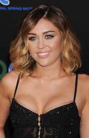 LOS ANGELES, CA - MARCH 12: Miley Cyrus attends 'The Hunger Games' World Premiere at Nokia Theatre at LA Live on March 12, 2012 in Los Angeles, California. /NortePhoto.com<br /> <br /> **CREDITO*OBLIGATORIO** *No*Venta*A*Terceros*<br /> *No*Sale*So*third*
