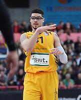 Basketball  1. Bundesliga  2016/2017  Hauptrunde  12. Spieltag  04.12.2016 Walter Tigers Tuebingen - ratiopharm Ulm Isaiah Philmore (Tigers)