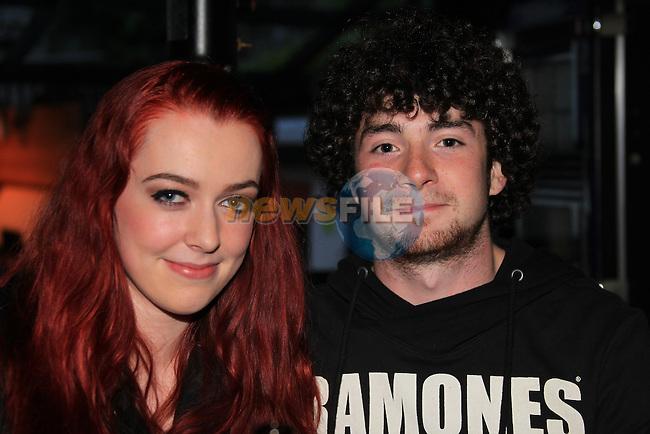 April O'gorman<br /> James levins in McPhails<br /> Picture:  Fran Caffrey / www.newsfile.ie