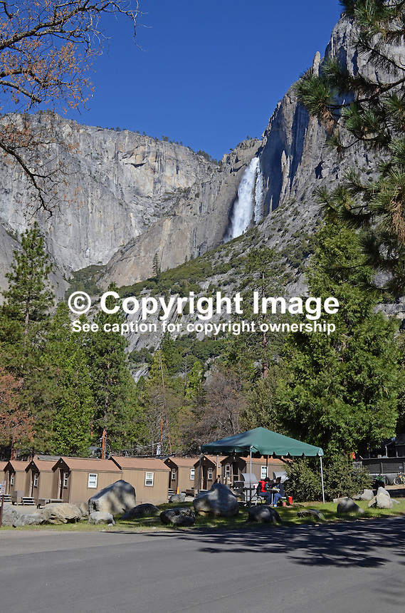 Yosemite National Park, California, USA, cabins, very basic, shared toilets, shared washrooms, 201304181523<br /> <br /> Copyright Image from Victor Patterson, 54 Dorchester Park, Belfast, UK, BT9 6RJ<br /> <br /> Tel: +44 28 9066 1296<br /> Mob: +44 7802 353836<br /> Voicemail +44 20 8816 7153<br /> Skype: victorpattersonbelfast<br /> Email: victorpatterson@me.com<br /> Email: victorpatterson@ireland.com (back-up)<br /> <br /> IMPORTANT: If you wish to use this image or any other of my images please go to www.victorpatterson.com and click on the Terms & Conditions. Then contact me by email or phone with the reference number(s) of the image(s) concerned.