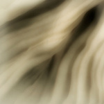 A blurred image of flowing material