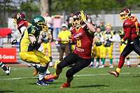 Kick-Off Return Rüsselsheim Crusaders - 08.04.2017: Rüsselsheim Crusaders vs. Nauheim Wildboys, Stadion am Sommerdamm