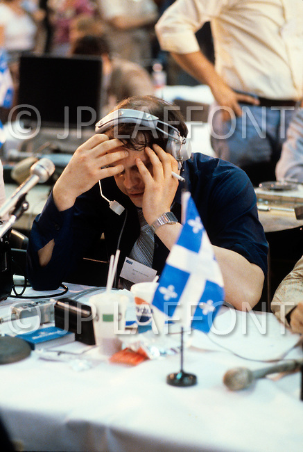 Montreal, Canada, May 20th1980. On May 20 1980, called by the Parti Quebequois (PQ) government, the first referendum on whether Quebec should pursue a path toward sovereignty took place. The OUI (yes) party was defeated by a 59.56 percent to 40.44 percent margin for the NO party. -