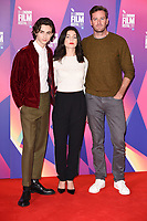 Timothee Chalamet, Esther Garrel &amp; Armie Hammer at the London Film Festival 2017 photocall for the film &quot;Call Me by Your Name&quot; at the Mayfair Hotel, London, UK. <br /> 09 October  2017<br /> Picture: Steve Vas/Featureflash/SilverHub 0208 004 5359 sales@silverhubmedia.com