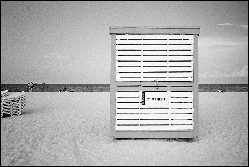 7th Street Beach<br /> From &quot;The machine to live in&quot; series. Miami Beach, FL