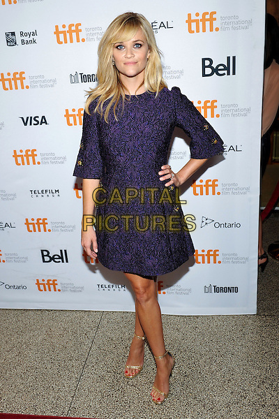 07 September 2014 - Toronto, Canada - Reese Witherspoon<br /> . &quot;The Good Lie&quot; Premiere during the 2014 Toronto International Film Festival held at the Winter Garden Theatre.  <br /> CAP/ADM/BPC<br /> &copy;Brent Perniac/AdMedia/Capital Pictures