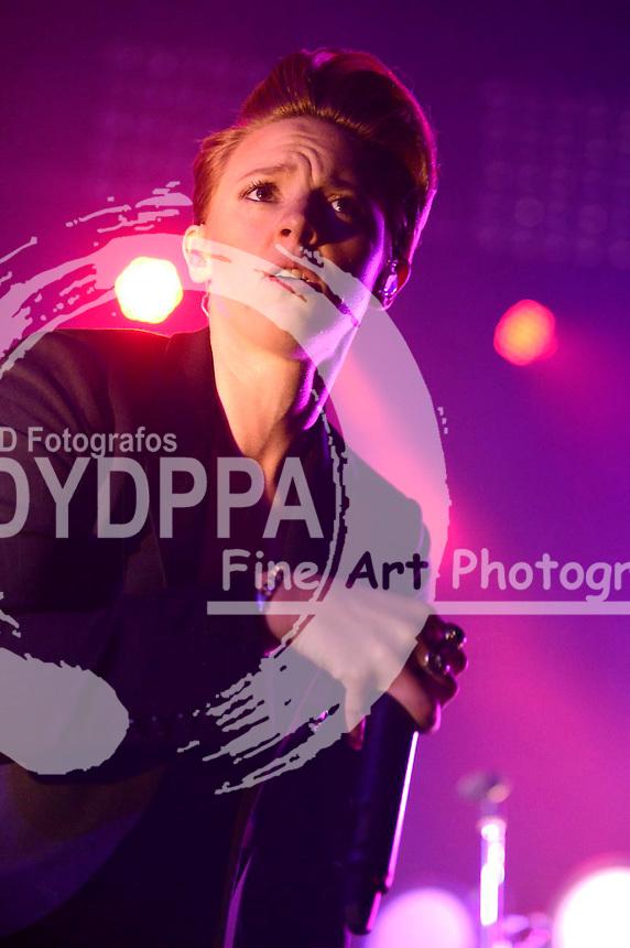 La Roux live auf dem Melt! Festival 2015 im Ferropolis. Gräfenhainchen, 17.07.2015