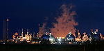 Petro Canada's Edmonton Refinery at dusk on Saturday September 3, 2005. John Ulan