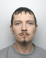 "Pictured: Police custody picture of Luke Cuber-Hives.<br /> Re: In the early hours of November 27, 2018 Luke Cuber-Hives burgled and set fire to the Riverside Health Shop in Adpar, Ceredigion.<br /> An extensive enquiry received the support of the local community, who identified his involvement in further theft and fraud offences. Cuber-Hives, aged 29, appeared before Swansea Crown Court yesterday, where he received a jail term totalling 54 months. <br /> Detective Inspector Richard Yelland, senior investigating officer into the enquiry, said: ""This sentence sends a strong message that arson is a serious and dangerous act.<br /> ""Ceredigion has seen first-hand the devastating impact these mindless acts can have on victims, and the fear it spreads in the community. We saw in Aberystwyth that fire can quickly take hold and lives can be lost.<br /> ""In this case it appears, the fact that nobody was hurt was due to luck, rather than the judgement of Mr Cuber-Hives.<br /> ""I hope that anyone considering such behaviour will think twice before committing such offences with a long prison sentence waiting for those who get caught."""