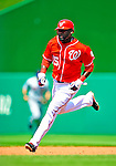 7 June 2009: Washington Nationals' infielder Cristian Guzman in action against the New York Mets at Nationals Park in Washington, DC. The Mets shut out the Nationals 7-0 to take the third game of the weekend series. Mandatory Credit: Ed Wolfstein Photo