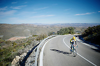 Sep Vanmarcke (BEL/LottoJumbo)<br /> <br /> Team Lotto Jumbo winter training camp<br /> Mojácar, Spain, January 2015