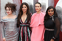 Helena Bonham Carter, Sandra Bullock, Sarah Paulson and Mindy Kaling attend the European Premiere of Ocean's 8 at Cineworld on Leicester Square in London.<br /> <br /> JUNE 13th 2018<br /> <br /> REF: MES 182213 _<br /> Credit: Matrix/MediaPunch ***FOR USA ONLY***