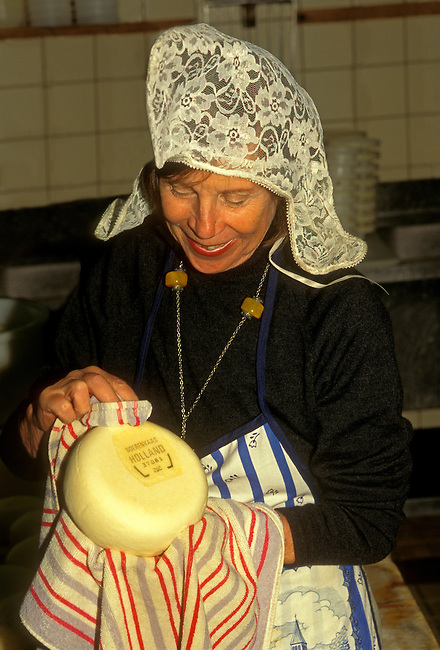 Dutch cheese at Clara Maria Cheese Farm and Clog Factory, Amstelveen, Holland, Netherlands, Europe