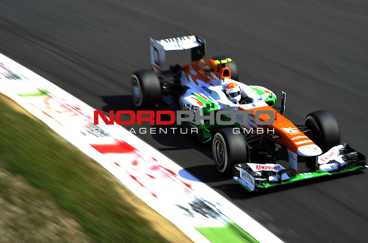 05.-08.09.2011, Autodromo Nationale, Monza, ITA, F1, Grosser Preis von Italien, Monza, im Bild Adrian Sutil (GER), Force India Formula One Team <br />  Foto &copy; nph / Mathis