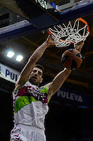 Shengelia<br /> Euroleague - 2014/15<br /> Regular season Round 4<br /> Valencia Basket vs Laboral Kutxa Vitoria