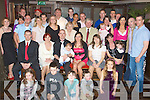 CHRISTENING: John and Catherine O'Connor Knocknagoshel who had thei9r baby Joshua christened in the Immaculater Conception Church on Sunday and afterwards celebration were held in the Abbey Inn, Tralee to mark the big event...