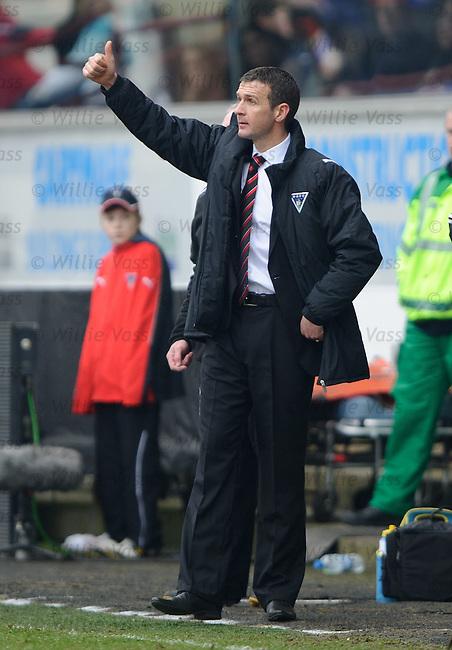 Dunfermline boss Jim McIntyre