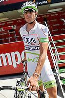 John Degenkolb before the stage of La Vuelta 2012 between Logroño and Logroño.August 22,2012. (ALTERPHOTOS/Acero) /NortePhoto.com<br /> <br /> **SOLO*VENTA*EN*MEXICO**<br /> **CREDITO*OBLIGATORIO**<br /> *No*Venta*A*Terceros*<br /> *No*Sale*So*third*<br /> *** No Se Permite Hacer Archivo**<br /> *No*Sale*So*third*