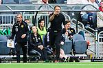 Stockholm 2014-06-18 Fotboll Superettan Hammarby IF - GAIS :  <br /> GAIS tr&auml;nare Per-Ola Ljung &quot;Peo&quot; reagerar<br /> (Foto: Kenta J&ouml;nsson) Nyckelord:  Superettan Tele2 Arena Hammarby HIF Bajen GAIS portr&auml;tt portrait