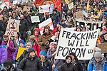 26/01/2014 Barton Moss fracking demo