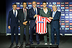 Atletico de Madrid's new player Mario Hermoso during his official presentation.  July 18, 2019. (ALTERPHOTOS/Francis Gonzalez)