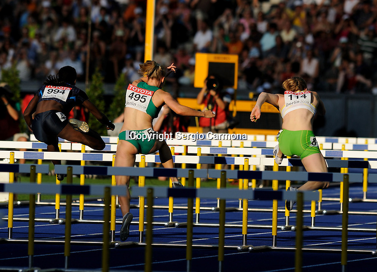 IAAF World Championships-Berlin 2009: Women 100m hurdles.