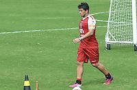 SAO PAULO, 24 DE MARCO DE 2013 - TREINO SAO PAULO - O jogador Aloisio durante treino do São Paulo, no CT da Barra Funda, região oeste da capital, na manha desta segunda feira, 25. (FOTO: ALEXANDRE MOREIRA / BRAZIL PHOTO PRESS)