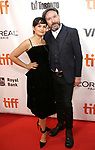 Natasha Noramly and Paul McGuigan attend the 'Film Stars Don't Die in Liverpool' premiere during the 2017 Toronto International Film Festival at Roy Thomson Hall on September 12, 2017 in Toronto, Canada.