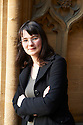Sally Nicholls , novelist and writer  of  Ways To Live Forever at The Oxford Literary Festival at Christchurch College Oxford  . Credit Geraint Lewis