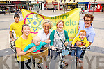 Looking forward to the Tralee Bicycle Festival taking place from the 15th to the 23rd September are, from left: Danny Riordan, Ailbhe Keogan, Noni Kelly, Nora Keogan, Maria Moynihan, Michael Kelly and Leo Kelly..