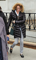 www.acepixs.com<br /> <br /> January 23 2017, New York City<br /> <br /> Actress Uma Thurman leaves Manhattan Supreme Court following the latest round in her custody battle with ex-husband Arpad Busson on January 23 2017 in New York City<br /> <br /> By Line: Curtis Means/ACE Pictures<br /> <br /> <br /> ACE Pictures Inc<br /> Tel: 6467670430<br /> Email: info@acepixs.com<br /> www.acepixs.com