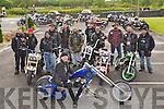 CUSTOM: At the Custom Bike Show at O'Riadas Bar & Reataurant, Ballymacelligott on Sunday morning, were, Matt Walz, Ben Dwyer, Paddy O'Heir, Neillie O'Gorman, Hugh Cullen, Pillian Bourke, Pa Crotty, Paul Rossiter, Mike Carroll,MIck Comerford, Tim O'Dee and Charlie Connolly. .......