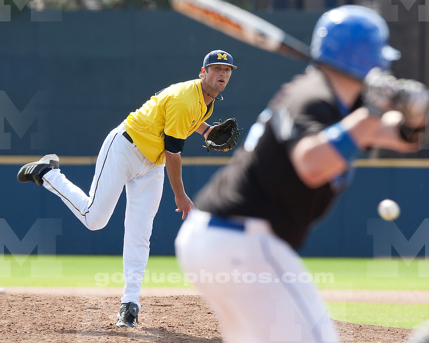 The University of Michigan baseball team beat IPFW, 11-3, At the Wilpon Baseball Complexin Ann Arbor, Mich., on March 25, 2012.