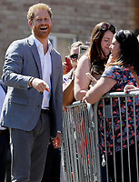 Prince Harry Duke of Sussex Visits Oxford