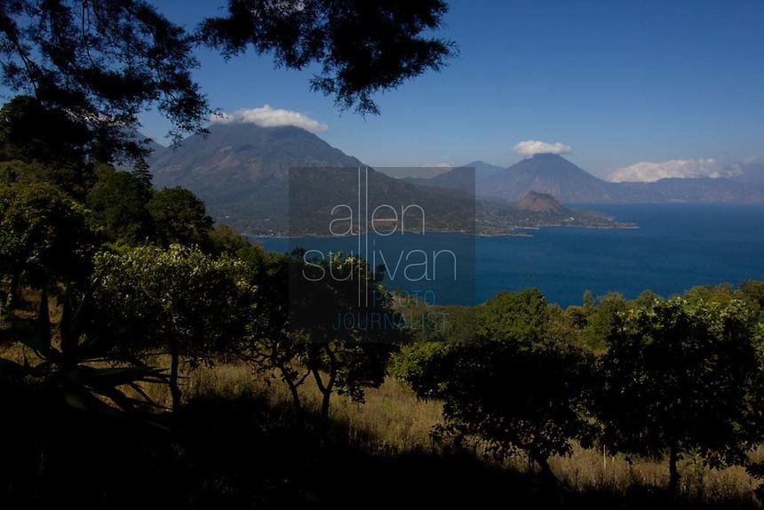 Lake Atitlán, Guatemala on Saturday, March 17, 2007, seen from near San Antonio Palopó.