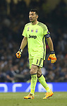 Dejected Gianluigi Buffon of Juventus during the Champions League Final match at the Millennium Stadium, Cardiff. Picture date: June 3rd, 2017.Picture credit should read: David Klein/Sportimage