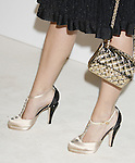 Katy Perry 's shoes at Chanel's Launch of Highly Anticipated New Concept Boutique on Robertson Boulevard on May 29, 2008 in Los Angeles, California.