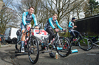 Picture by Allan McKenzie/SWpix.com - 15/04/17 - Cycling - HSBC Spring Cup Road Series - 2017 Chorley Grand Prix - Chorley, England - Brother NRG warm up.