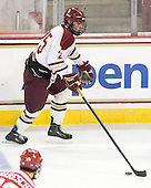 Anthony Cusano (BC - 25) - The Boston College Eagles defeated the visiting Boston University Terriers 6-2 in ACHA play on Sunday, December 4, 2011, at Kelley Rink in Conte Forum in Chestnut Hill, Massachusetts.