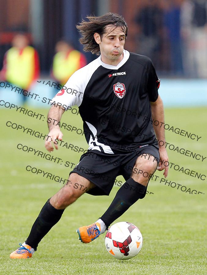 Fudbal Super liga season 2013-2014<br /> Vozdovac v Crvena Zvezda<br /> Stefan Babovic<br /> Beograd, 22.09.2013.<br /> foto: Srdjan Stevanovic/Starsportphoto &copy;