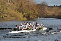 024 .HEN-Hines .IM2.8+ .Henley RC. Wallingford Head of the River. Sunday 27 November 2011. 4250 metres upstream on the Thames from Moulsford railway bridge to Oxford Universitiy's Fleming Boathouse in Wallingford. Event run by Wallingford Rowing Club..