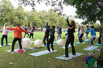 Free Pilates and Tai Chi Classes Held by Body Right at Dominics Park in aid of the Tania McCabe Foundation...(Photo credit should read Jenny Matthews www.newsfile.ie)....This Picture has been sent you under the conditions enclosed by:.Newsfile Ltd..The Studio,.Millmount Abbey,.Drogheda,.Co Meath..Ireland..Tel: +353(0)41-9871240.Fax: +353(0)41-9871260.GSM: +353(0)86-2500958.email: pictures@newsfile.ie.www.newsfile.ie.