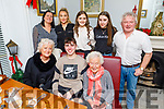 Sean Collins from Tralee celebrating his 17th birthday in Bella Bia on Friday.<br /> Front l to r: Sean, Mary and Mary Collins.<br /> Back l to r: John and Niamh Collins, Hannah Tansley, Catriona and Niamh Collins.