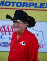 Oct 16, 2016; Ennis, TX, USA; NHRA team owner Don Schumacher during the Fall Nationals at Texas Motorplex. Mandatory Credit: Mark J. Rebilas-USA TODAY Sports