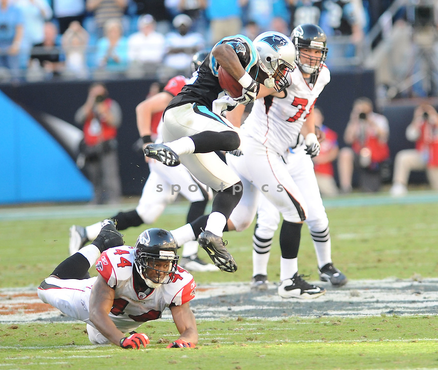 RICHARD MARSHALL, of the Carolina Panthers, in action during the Panthers game against the Atlanta Falcons on November 15, 2009 in Charlotte, NC. Panthers won 28-19