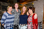 Maria O'Brien, Marion Fanning, Eileen Moloney, Mary Ryan McMahon enjoying a night out at Bella Bia's on Saturday