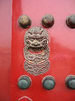 Door Art - Forbidden Palace, Beijing, China