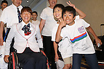 Monika Seryu (JPN), <br /> AUGUST 2, 2016 :<br /> Japan National Team Send-off Party<br /> for Rio Paralympic Games<br /> in Tokyo, Japan. (Photo by Shingo Ito/AFLO)